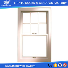 Compitive price high quality sliding aluminum frame glass window grille inserts