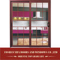 YiFa brand aluminium windows double glass price grills design for sliding windows in china