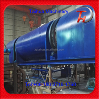 Wood Chips Carbonization Stove Machine For Charcoal Making