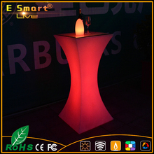 LED Bar table used for nightclub/ LED cocktail table for bar