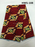 New pattern printed hollandai fabric African style wax print 100 cotton real wax prints fabric with stone 6 yards