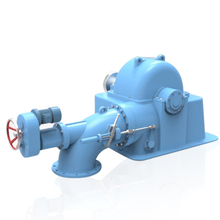 china suppliers high quality inclined-jet turbine water turbine for small hydro power plant 200KW 500KW 100KW