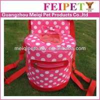 Beautiful Back pack pink dog carrier