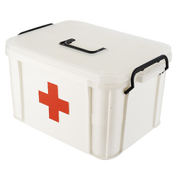 BP5005 series plastic first aid kit with lock,emergency kit,box