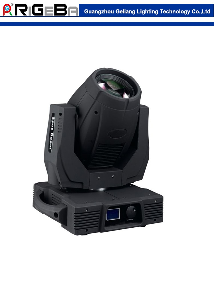 Newest 330W beam spot moving head light pattern effect light high power stage light