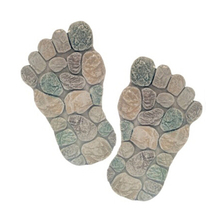 Garden decorative foot shaped stepping stone