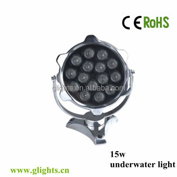15w Stainless Steel led swimming pool light IP68