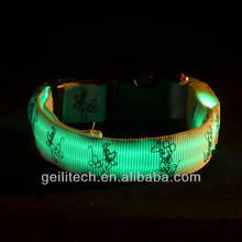 2017 hot selling pet products remote control led flashing dog collar wholesale