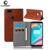 New Product Mobile Phone Accessories Flip Wallet TPU Leather Case For One Plus 5T 6 Case Anti Shock,For Oneplus 5T 6 Back Covers