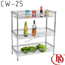 microwave oven stand chrome wire sliding <strong>shelf</strong> kitchen <strong>shelves</strong>