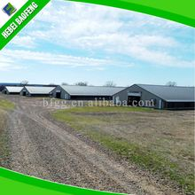 Fabricated american steel buildings low cost prefab poultry house