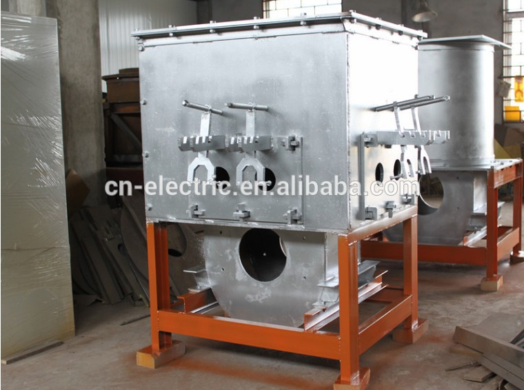 Horizontal brass/bronze pipe continous casting machine