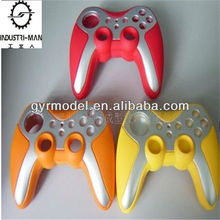 wireless Game Controller, SLA rapid prototype plastic Model, colorful