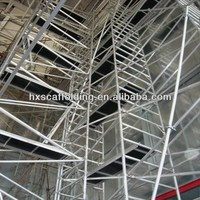 aluminum quick stage scaffolding for construction