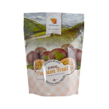 Capacity 140g Stand Up 80mic Freeze Dried Mangosteen Crisps Bag With Multi Colors Printing