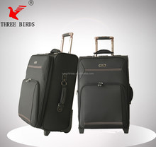 Baigou popular model luggage set, upright classical safari trolley bags, brand name suitcase - china supplier