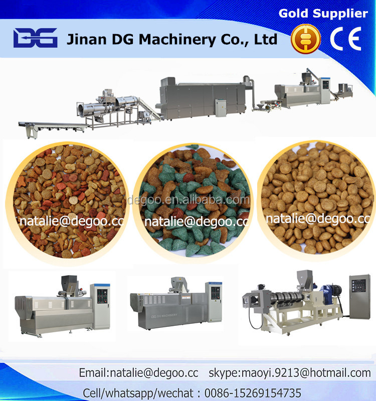 Dog food pet food snacks processing extrusion machine plant