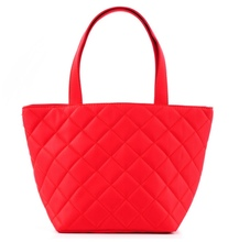2014 Cheap Promotional Ladies hand bag red recycled shopping bags