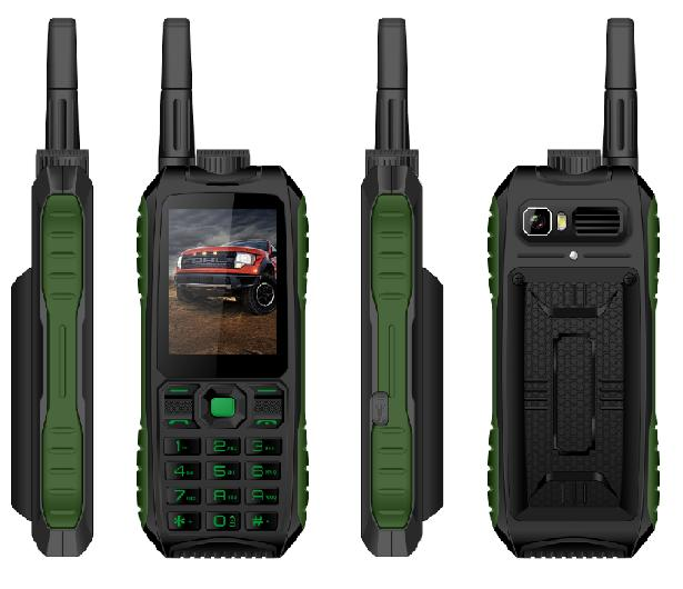 2.4 inch MTK6261D three proof long standby phone outdoor mobile phone