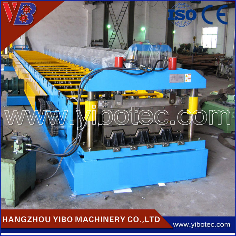 Alibaba Express Machine Manufacturer Metal Extrusion Machine Floor Deck Roll Making Machinery