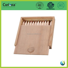 Wooden color pencil set with wooden box