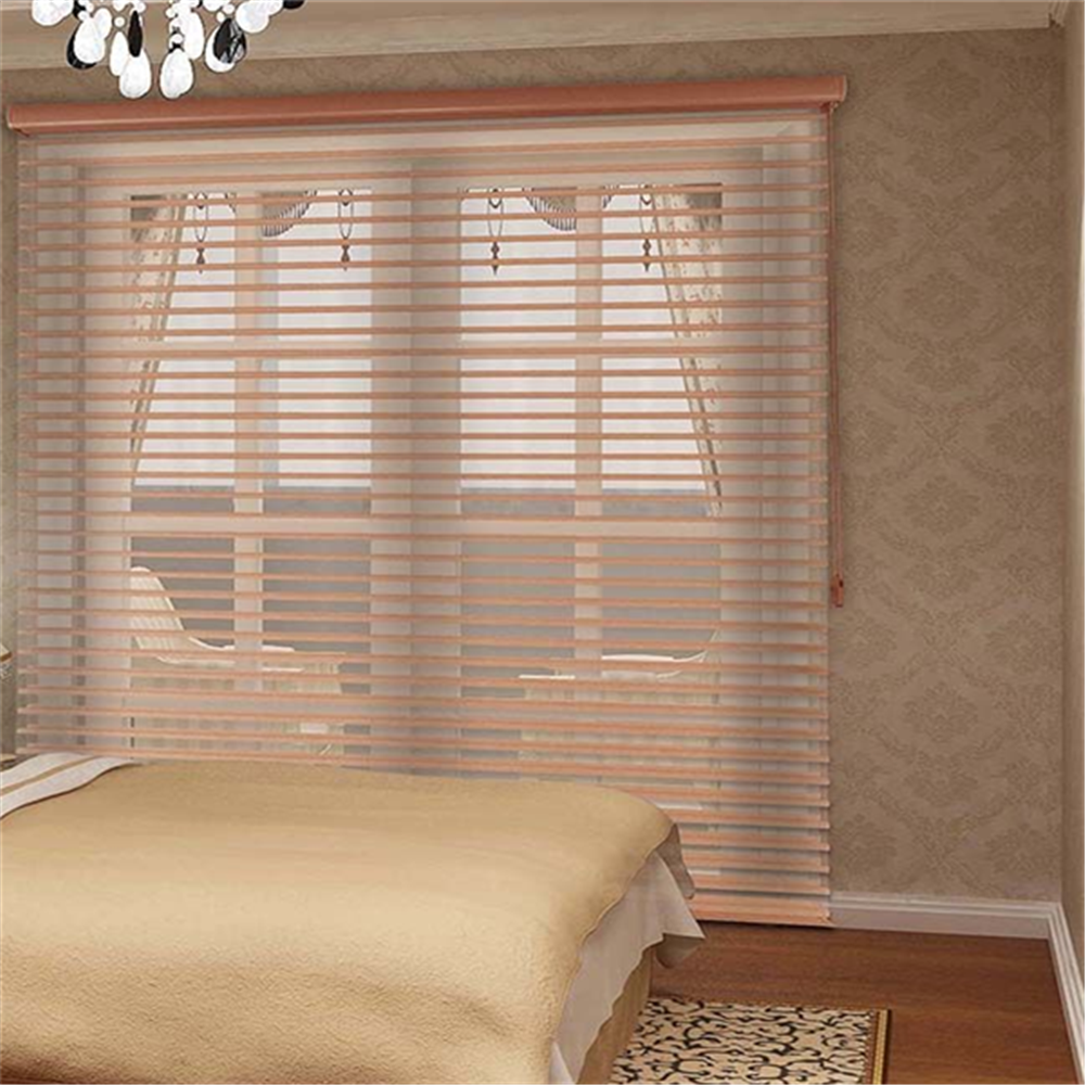 Wholesale fabric Baby safe Tag Manual shangri-la blinds