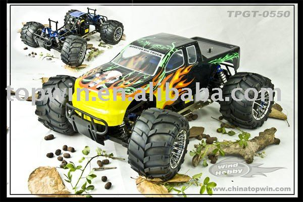 1:5 Scale 26cc Gas Radio Controlled Good Cars Hobby Powered Off-Road Monster RC Truck