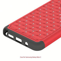Bling Hybrid Hard Silicon Case For Ipad Mini