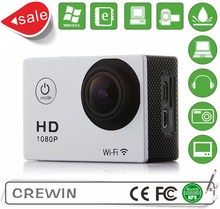2016 High Definition Single Shot / Self-timer Mode Waterproof Sport Action HD Camera