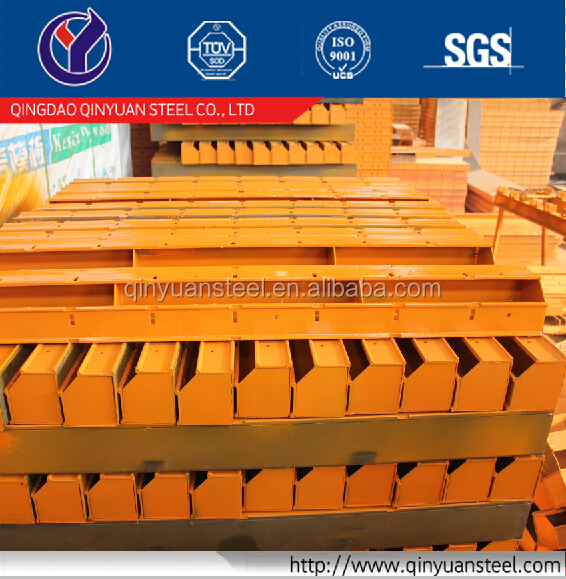 Modular steel frame formwork for a foundation