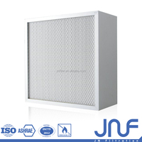 Glassfiber High Temperature MERV16 HEPA Air Filter 12 Inches