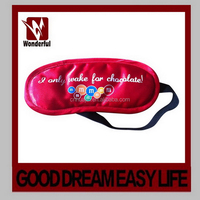 New style best selling sleeping eye mask in solid plain colors
