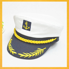 SPWE-354 Wholesale cheap cosplay sailor hat color captain police hat