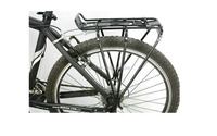 high quality wholesale black color bicycle bike rear carrier
