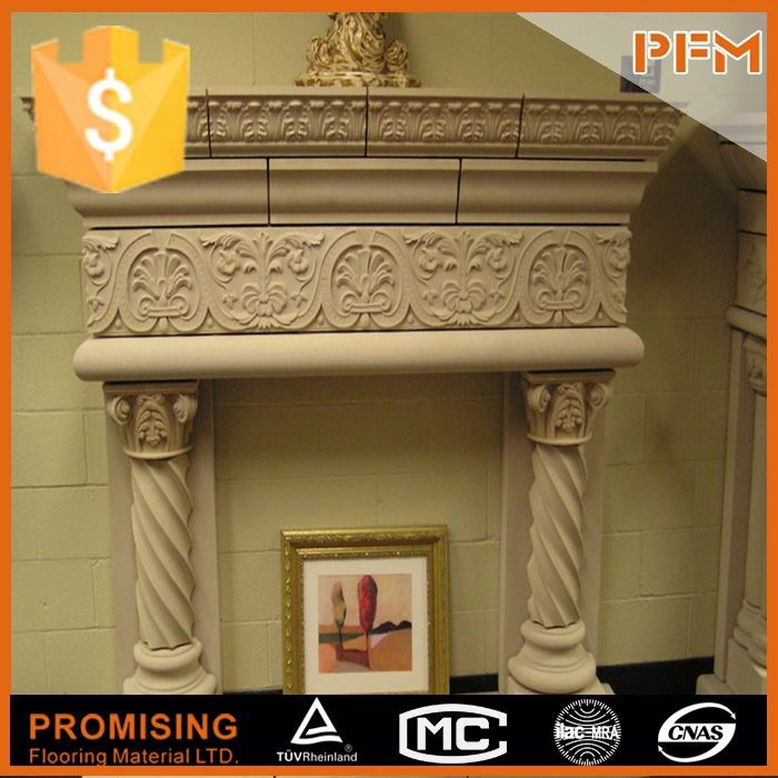 Economy fake electric stove marble fireplace pictures