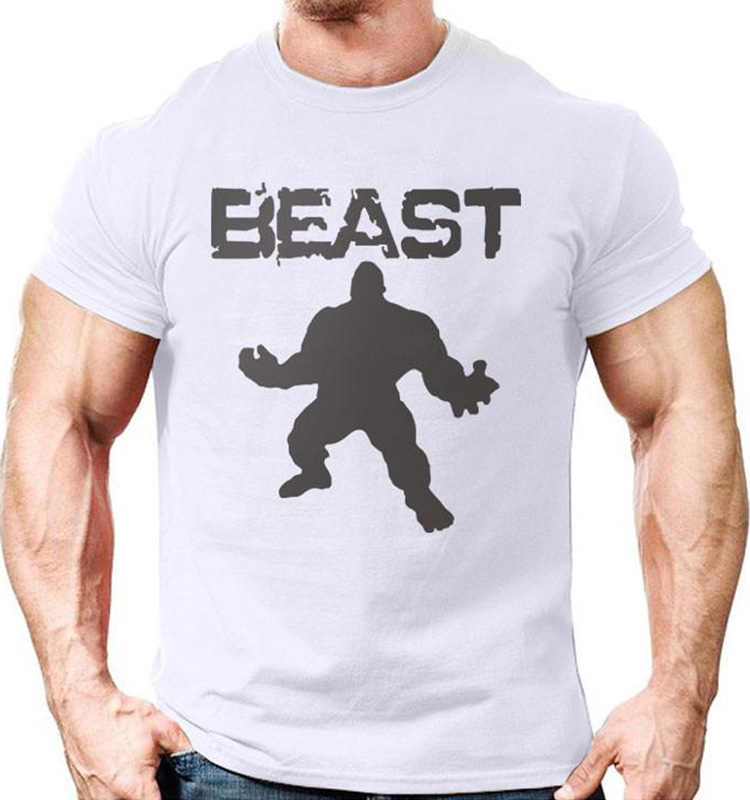 High Quality Dry Fit Mens Fitness Gym Clothing Workout Wear Custom Bodybuilding T Shirt