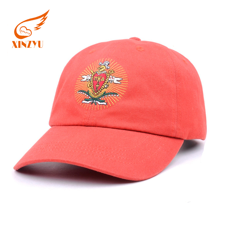 Cheap Embroidered Leather Strap Stone Washed Soft Baseball Caps Low Profile Unstructured Baseball Cap