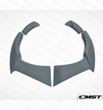 CMST STYLE FIBER GLASS CAR REAR WHEEL ARCHES TRIMS FOR FORD MUSTANG
