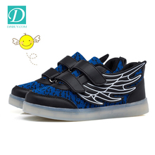 Factory Price Fashion Lights Up Sneakers Led Shoes For Kids