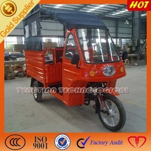 cargo tricycle gasoline engine motorcycle with windshields top 3 wheel motorcycle on sale
