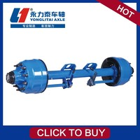 Light Trailer Drop duty truck axle