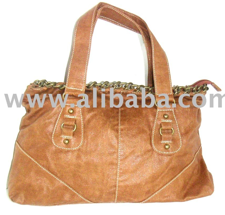 High Grade Fashion Lady's Handbag-PU Or Leather-Style 1797