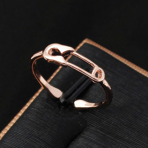 Clip Ring fashion Korea hipster tail ring for Women New Fashion Stainless Steel Couple Ring