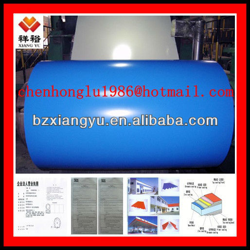2015 alibaba All Ral low price and high quality ppgi steel roofing in china