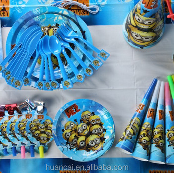 Best Sale High Quality Birthday Party Decorations Kids Sets/Good Birthday Party Supplies