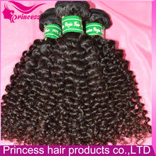 Christmas gift best sell hot product trial order accepted tight curly premium brazilian hair