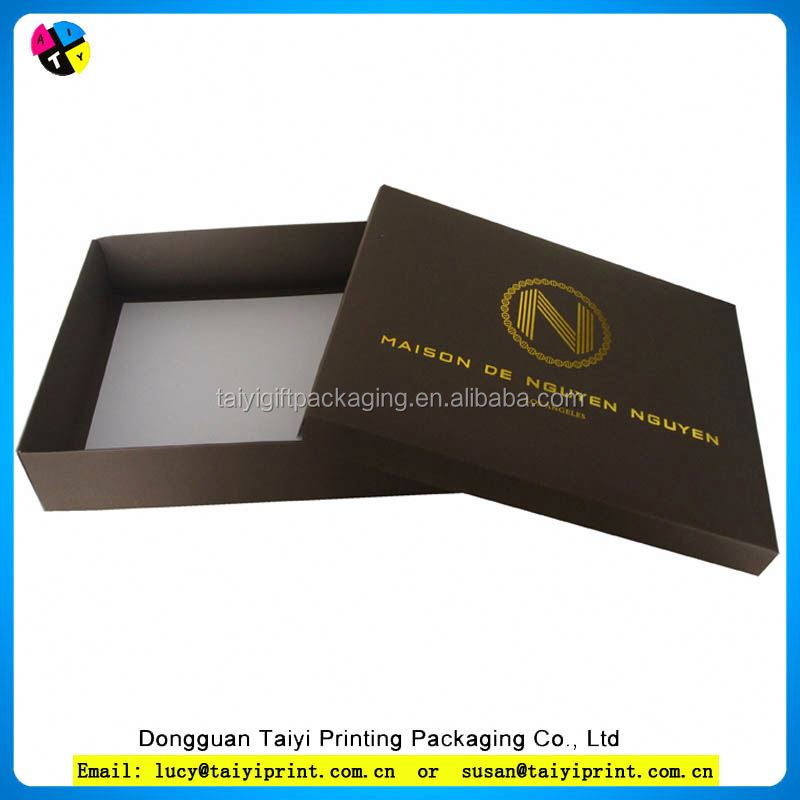 Recycle promotional aluminum gift box