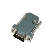 Waterproof ip67 d-sub 9pin female rs232 connector