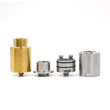 china suppliers russian electronic cigarettes black and mild vaporizer kennedy 24 mm rda clone of ss gold black color