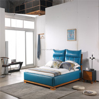 High quality Wholesale new products on china market bedroom furniture simple double bed